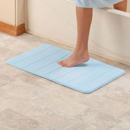 New - Microfiber Memory Foam Bath Mat