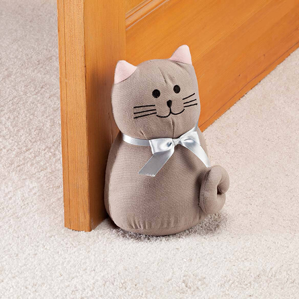 Plush Cat Doorstop by OakRidge™