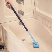 Home Necessities - Telescopic Tub & Wall Scrubber