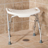 Bathroom Safety - Folding Bath Bench