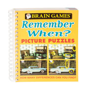 Hobbies & Books - Brain Games® Remember When Picture Puzzle Book