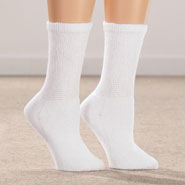 Diabetic Hosiery - Silver Steps™ 3 Pack Cool + Dry Diabetic Socks