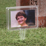 Outdoor - Memorial Cemetery Photo Frame