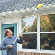 Cold Weather Safety - Telescopic Gutter Brush