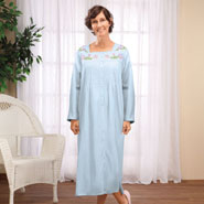 Apparel - Long Sleeve Cotton Robe