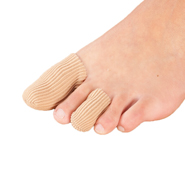 Foot Care - Silver Steps™ Antibacterial Toe or Finger Caps, Set of 4