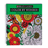 Gifts Under $10 - Brain Games® Color by Number