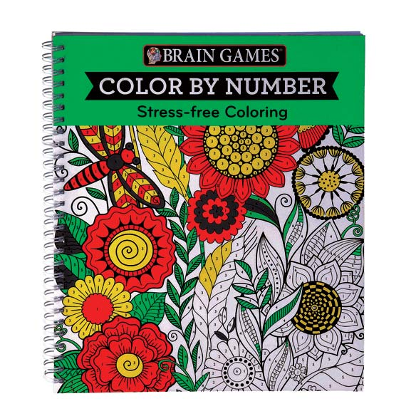 Brain Games® Color by Number - View 1