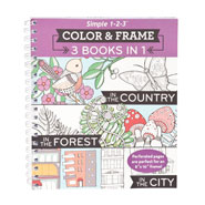 Memory Loss - 1-2-3 Color and Frame Country, Forest and City