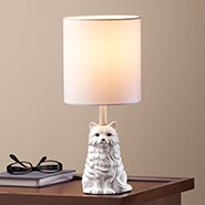 Lighting - Playful Cat Lamp with Shade