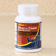 New - MagniLife® Muscle Cramp Pain Reliever Dissolving Tablets