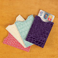 New - Colored RFID Sleeves, Set of 4