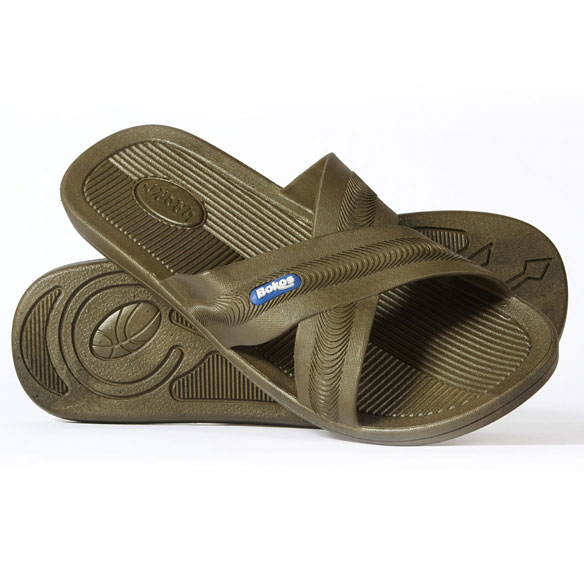 Bokos Men's Rubber Sandals