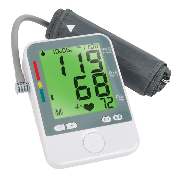 Color Changing Blood Pressure Monitor - View 1