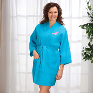 Apparel - Personalized Waffle Robe - Short By Sawyer Creek Studio™​