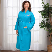 Gifts Under $50 - Personalized Waffle Robe - Long By Sawyer Creek Studio™​