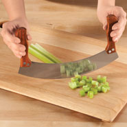 New - Curved Chopping Knife