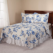 Bedding & Accessories - Charlotte Reversible Microfiber Comforter by OakRidge