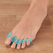 New - Natra Cure® 5 Toe Gel Stretcher, 1 Pair