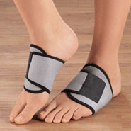 Foot Pain - Adjustable Compression Arch Support - 1 Pair