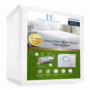 Bedding & Accessories - Bamboo Hypoallergenic Waterproof Mattress Protector