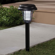 Outdoor - Solar LED Light & UV Bug Zapper by Pest-B-Gone™