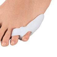 Gel Foot Care - Silver Steps™ Tailored Gel Bunion Protector with Loops, 1 Pair