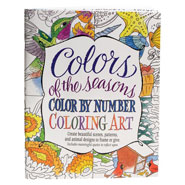 New - Colors of the Seasons Color by Number Coloring Book