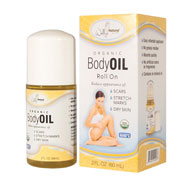 New - Organic Roll On Body Oil