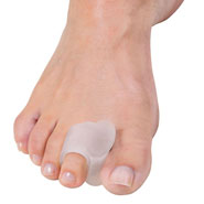 New - Visco-Gel Stay-Put Toe Spacer