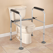 Bathroom - Foldable Toilet Support