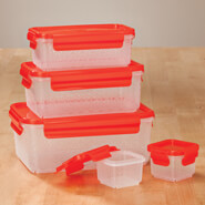 Cooking Alone - Nested Food Containers, Set of 10