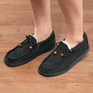 New - Men's Indoor/Outdoor Memory Foam Moccasins