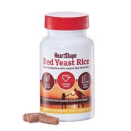 Dietary Supplements - HeartShape® Red Yeast Rice Veggie Caps