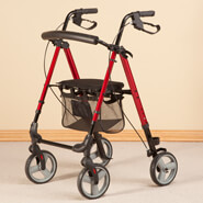 Mobility Aids - Ultra Lite Travel Rollator