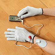 New - Electrode (TENS) Gloves, 1 Pair