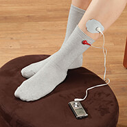 New - Electrode (TENS) Socks, 1 Pair