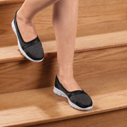 Comfort Footwear - Silver Steps™ Feather Lite Slip-On Shoes