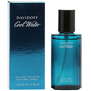 Fragrances - Davidoff Cool Water Men, EDT Spray 1.35oz