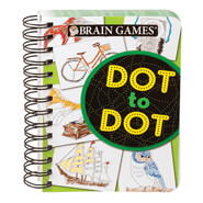 Memory Loss - Mini Brain Games® Dot to Dot