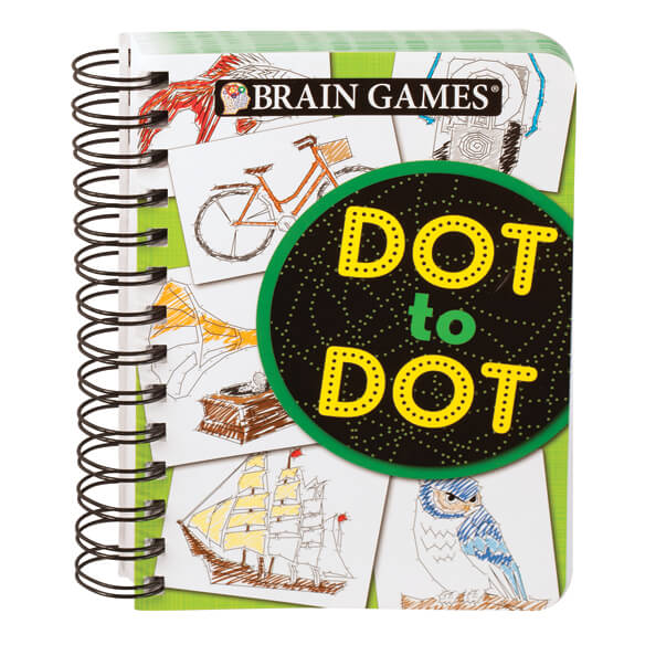 Mini Brain Games® Dot to Dot - View 1