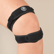 Knee & Ankle Pain - Adjustable Double Knee Strap