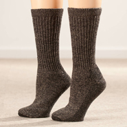 Diabetic Hosiery - Silver Steps™ Wool Diabetic Socks, 2 Pairs