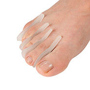 Gel Foot Care - Silver Steps™ Gel Toe Separators, Set of 8