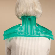 "Pain Remedies - Reusable 8""x18"" Neck and Shoulder Hot Pad"