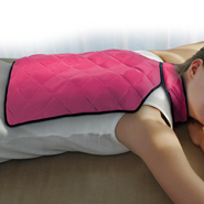 Cold, Flu, and Pain Relief - Hot and Cold Back Wrap with Collar