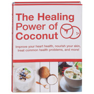 "New - ""The Healing Power of Coconut"" Book"