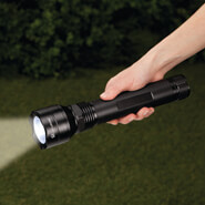 "Auto & Travel - 10 3/4"" Tactical Flashlight by LivingSURE™"