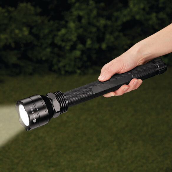 "13 1/4"" Tactical Flashlight by LivingSURE™"