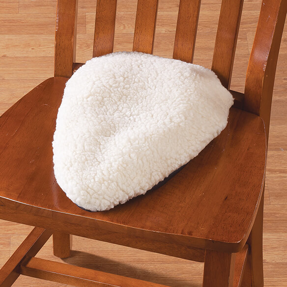 Sciatica Pillow with Sherpa Cover